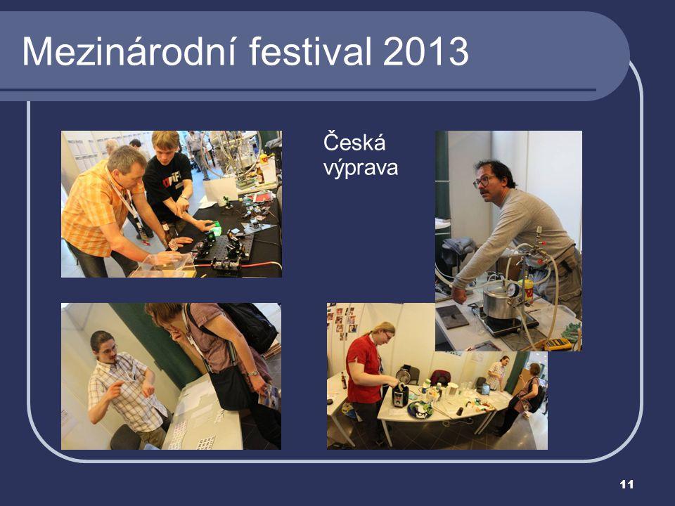 11 Mezinárodní festival 2013 Česká výprava