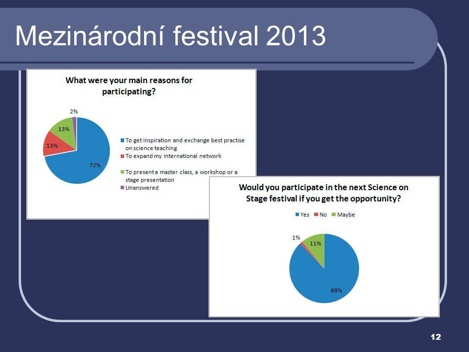 12 Mezinárodní festival 2013