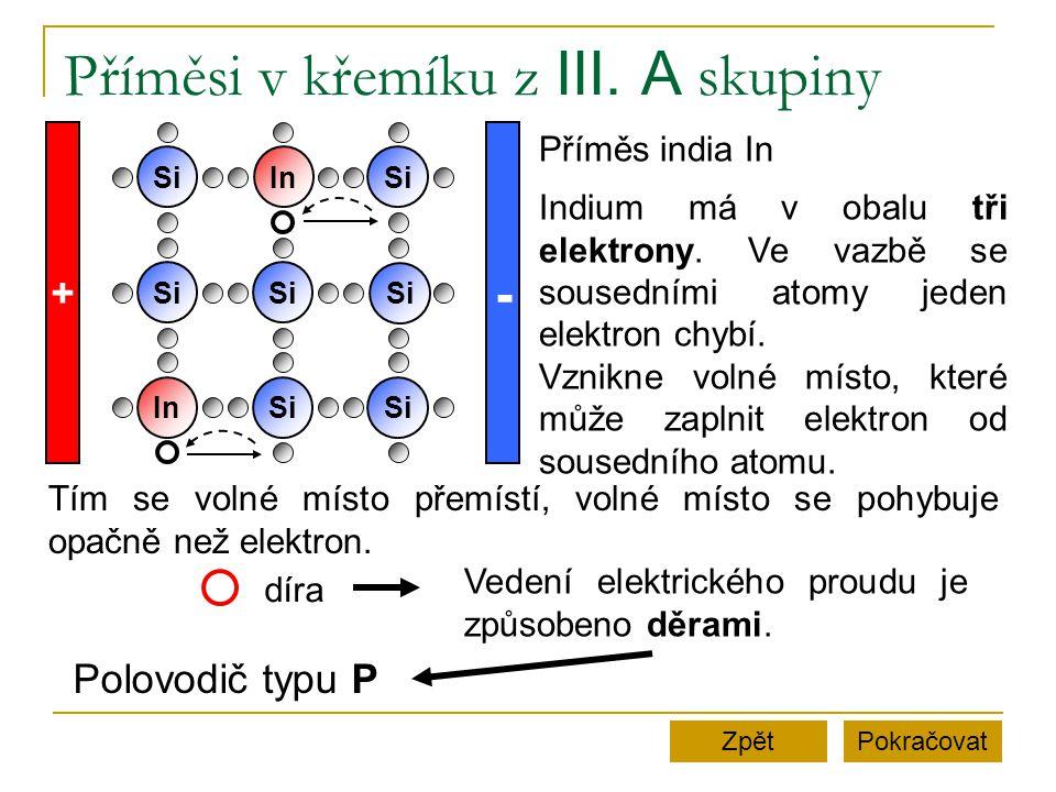 Zápisky Krystal křemíku má při nízkých teplotách velký elektrický odpor.