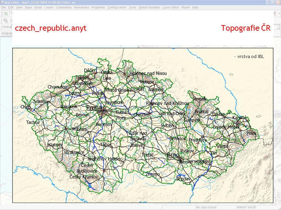 czech_republic.anyt Topografie ČR - vrstva od IBL