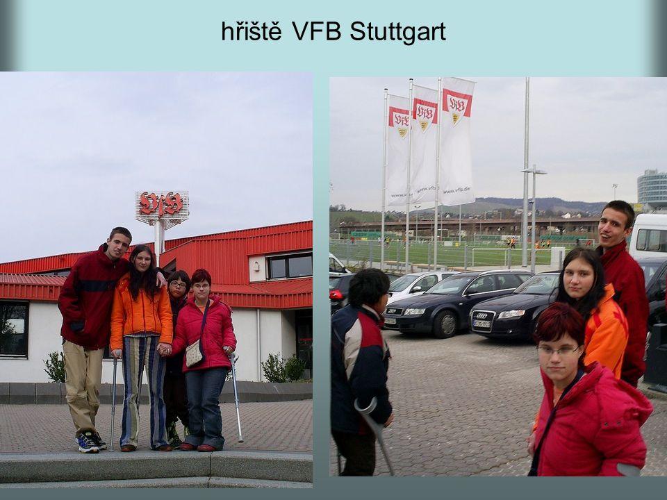 hřiště VFB Stuttgart