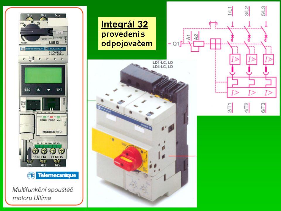 Integrál 32 provedení s odpojovačem