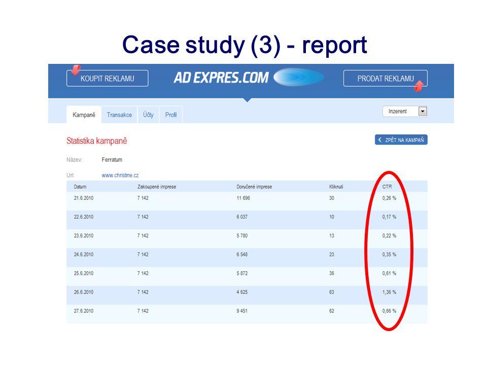 Case study (3) - report