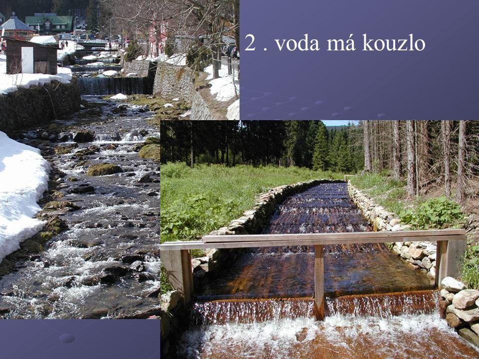 2. voda má kouzlo