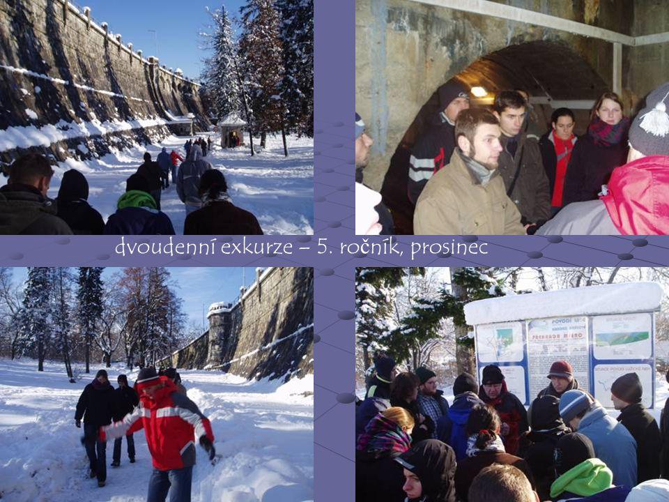 dvoudenní exkurze – 5. ročník, prosinec