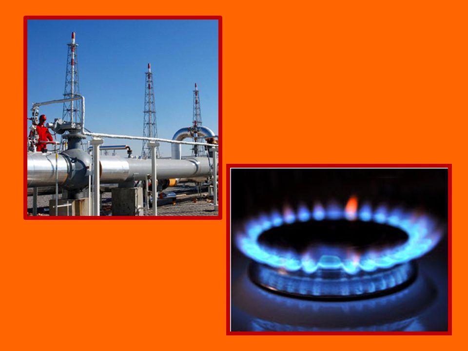 Zemní plyn těžba v hlubinných vrtech domácnosti – topení, vaření, pečení doprava plynovody nebezpečná vlastnost - výbušnost
