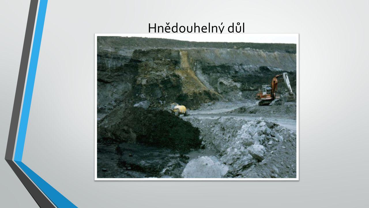 Hnědouhelný důl