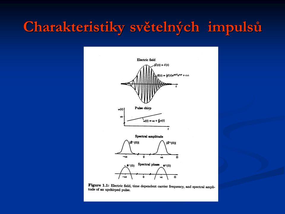 Charakteristiky světelných impulsů