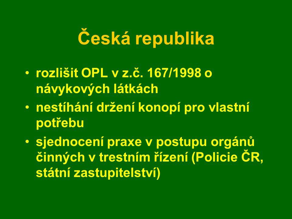 Česká republika rozlišit OPL v z.č.