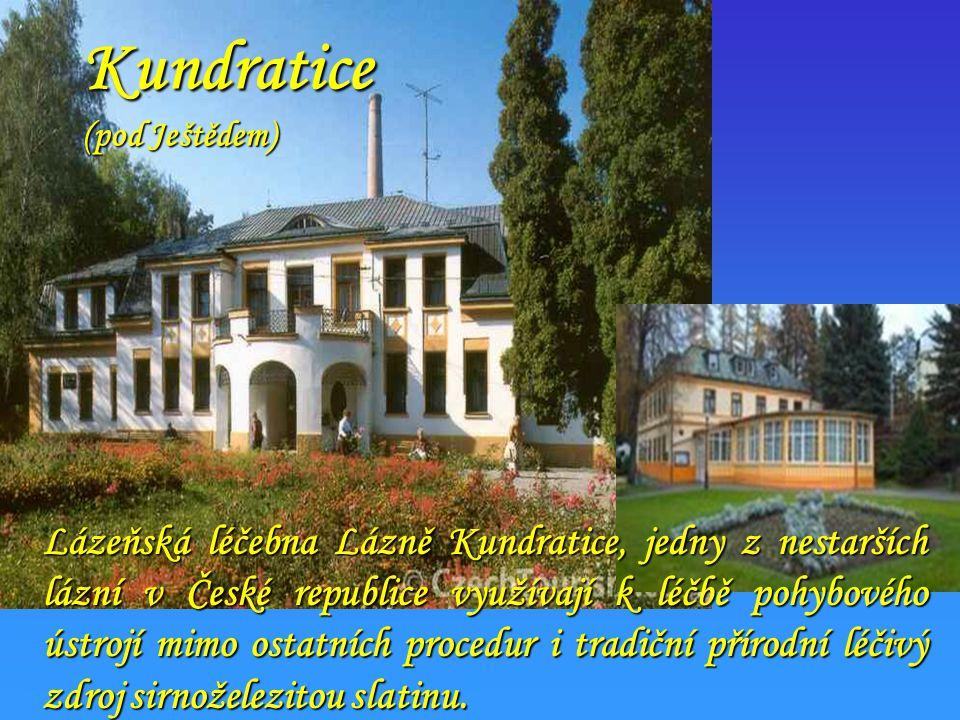 Konstantinovy lázně (na SZ od Plzně) Od 1. 2. 2007 jsme zahájili léčbu pacientů po srdečních a cévních operacích překladem z kardiovaskulárních odděle