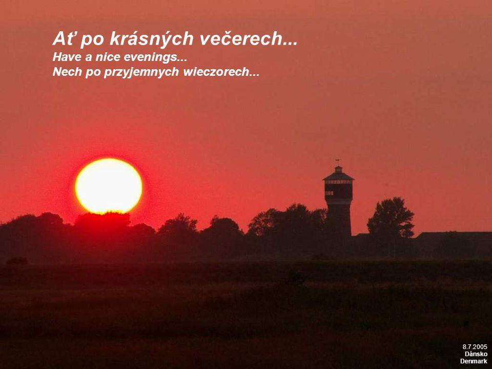 13.7.2006 Rusko, pobřeží Baltu Russia, Baltic coast Ať po krásných večerech...