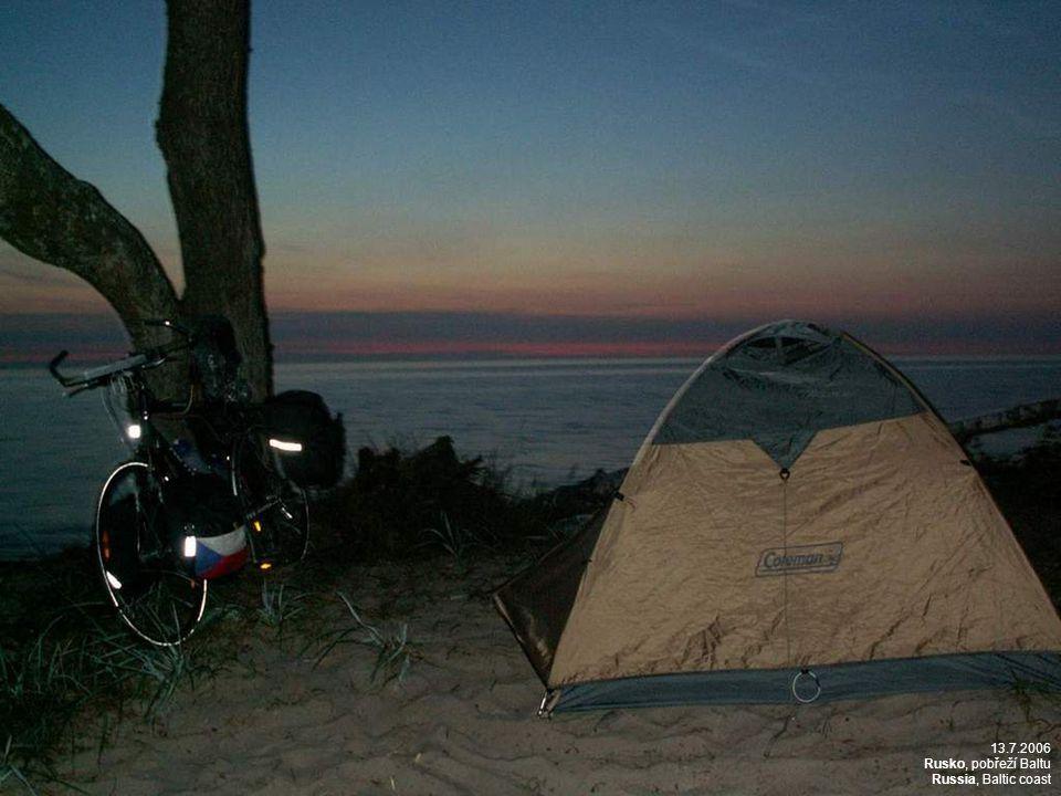 13.7.2006 Rusko, pobřeží Baltu Russia, Baltic coast