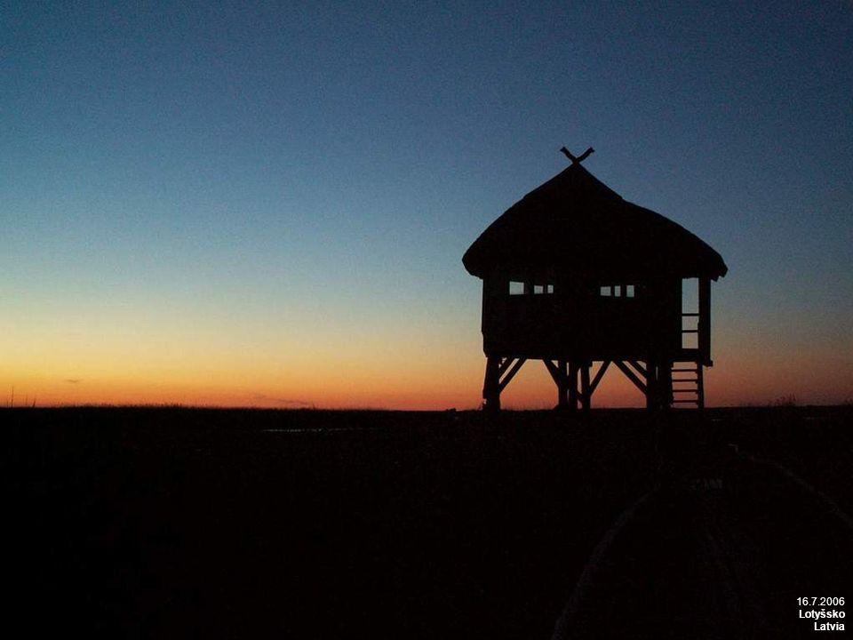 16.7.2006 Lotyšsko, pobřeží Baltu Latvia, Baltic coast