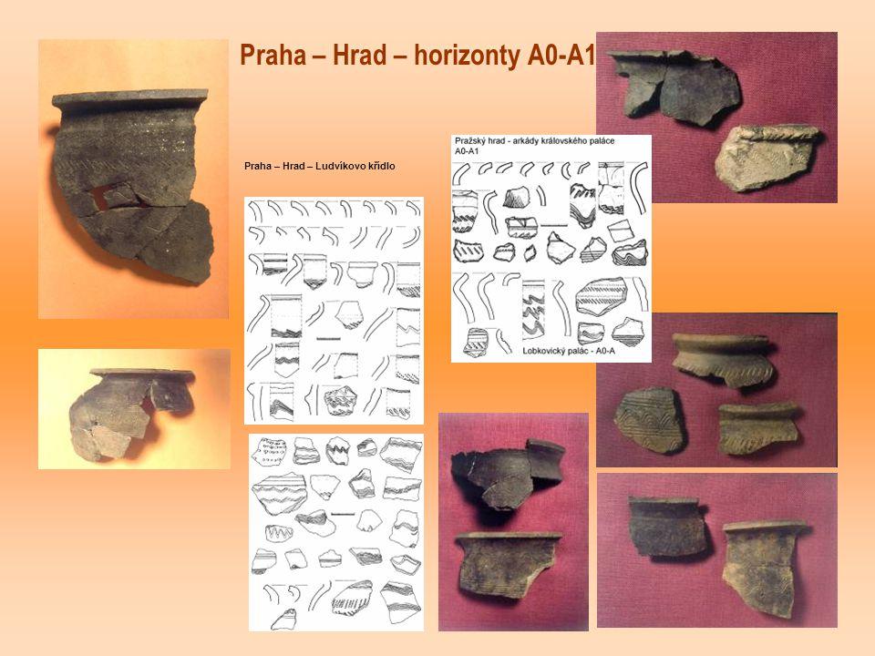 Praha – Hrad – horizonty A0-A1 Praha – Hrad – Ludvíkovo křídlo