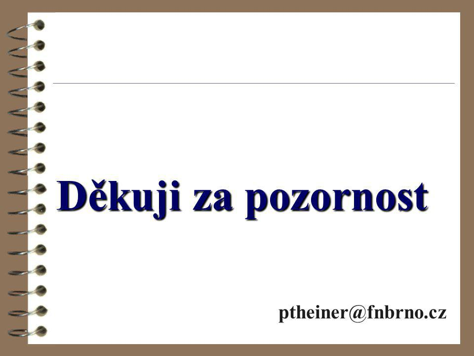 Děkuji za pozornost ptheiner@fnbrno.cz