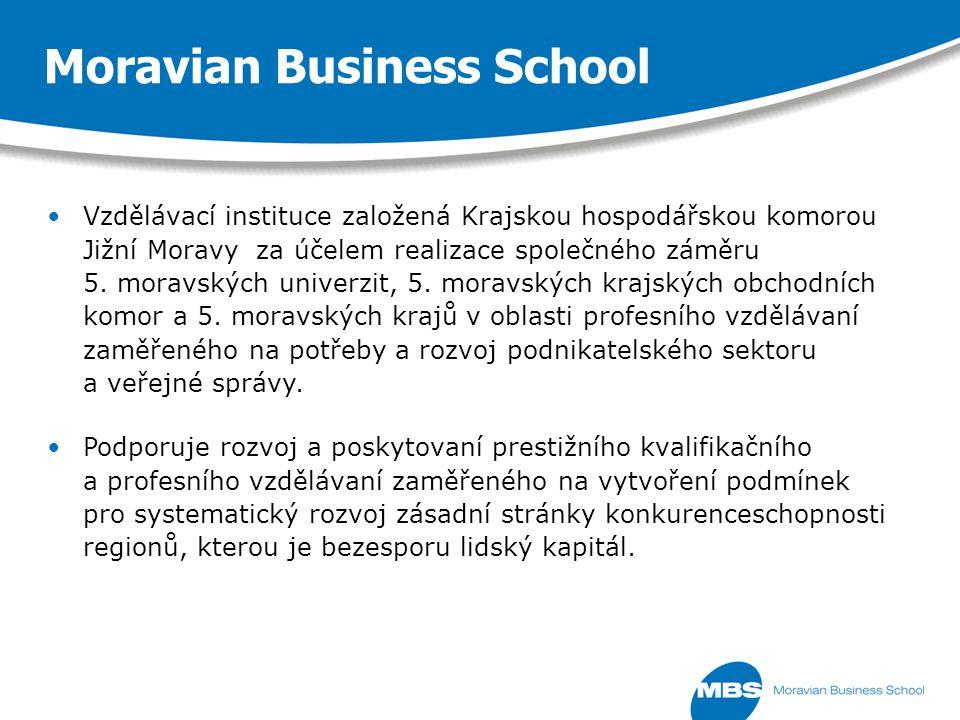 Vzdělávací instituce založená Krajskou hospodářskou komorou Jižní Moravy za účelem realizace společného záměru 5.