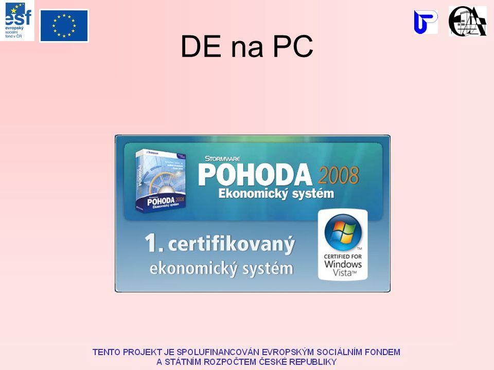DE na PC