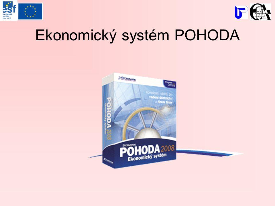 Ekonomický systém POHODA