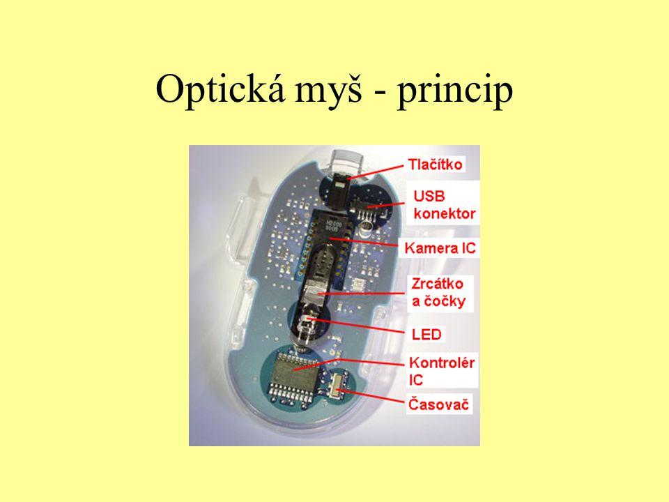 Optická myš - princip