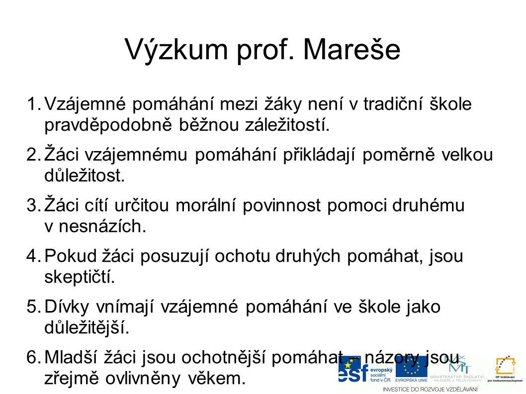 Výzkum prof.