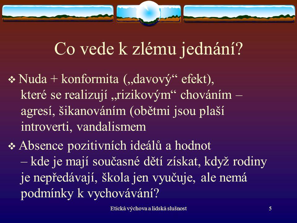 Psychologické základy EV (V.Smékal) Co je osobnost .