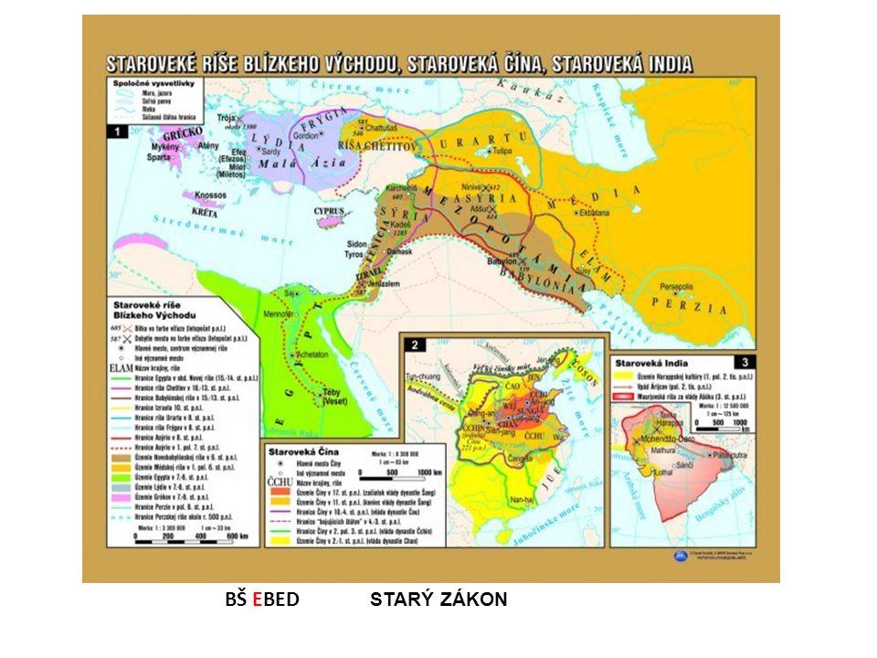 Zeměpis Údolí řeky Nil Mezopotámie (meziříčí) Syrie (Aram) Kanán