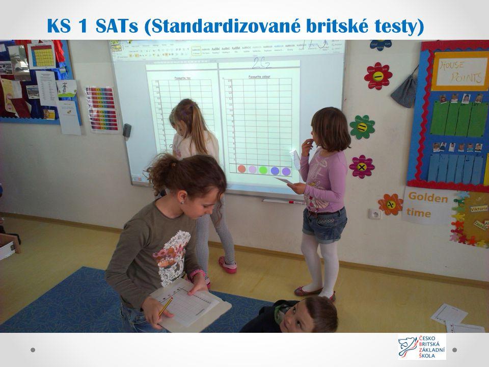 KS 1 SATs (Standardizované britské testy)