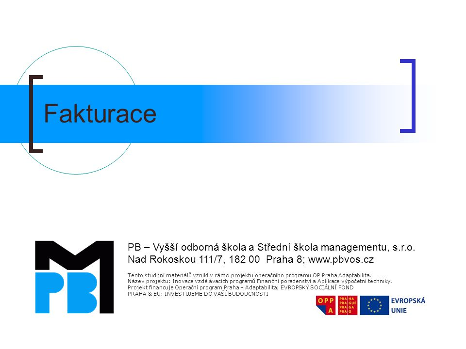 Vystavení a odeslání PKU 1.Zvolení příslušných plateb v seznamu Výběr plateb a klávesou F8 označit ty, na které se vztahuje požadavek 2.Zadání datum splatnosti v seznamu Příkaz k úhradě 3.Formulář příkazů Tisk /HomeBanking /Exportovat příkaz pro banku 4.Potvrzení nebo opravení souboru 5.Bankovní program odešle soubor s příkazem do banky