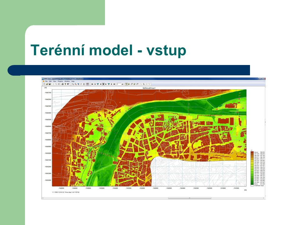 Terénní model - vstup