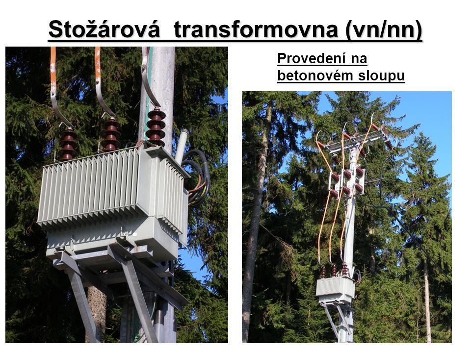 Stožárová transformovna (vn/nn) Provedení na betonovém sloupu