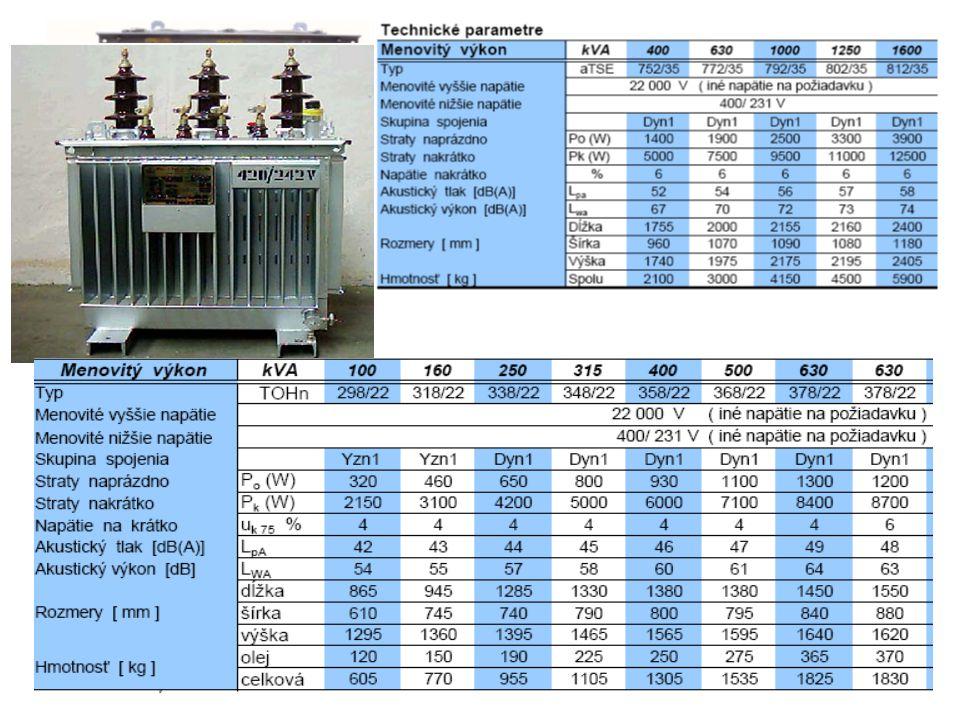 transformátorová odbočka vývodová odbočka Pojistkový odpínač (SF6) s uzemňovačem Výkonový vypínač (vakuum) s blokovaným odpojovačem a uzemňovačem