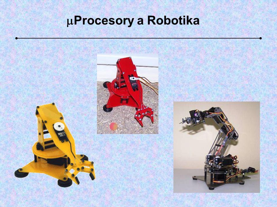  Procesory a Robotika