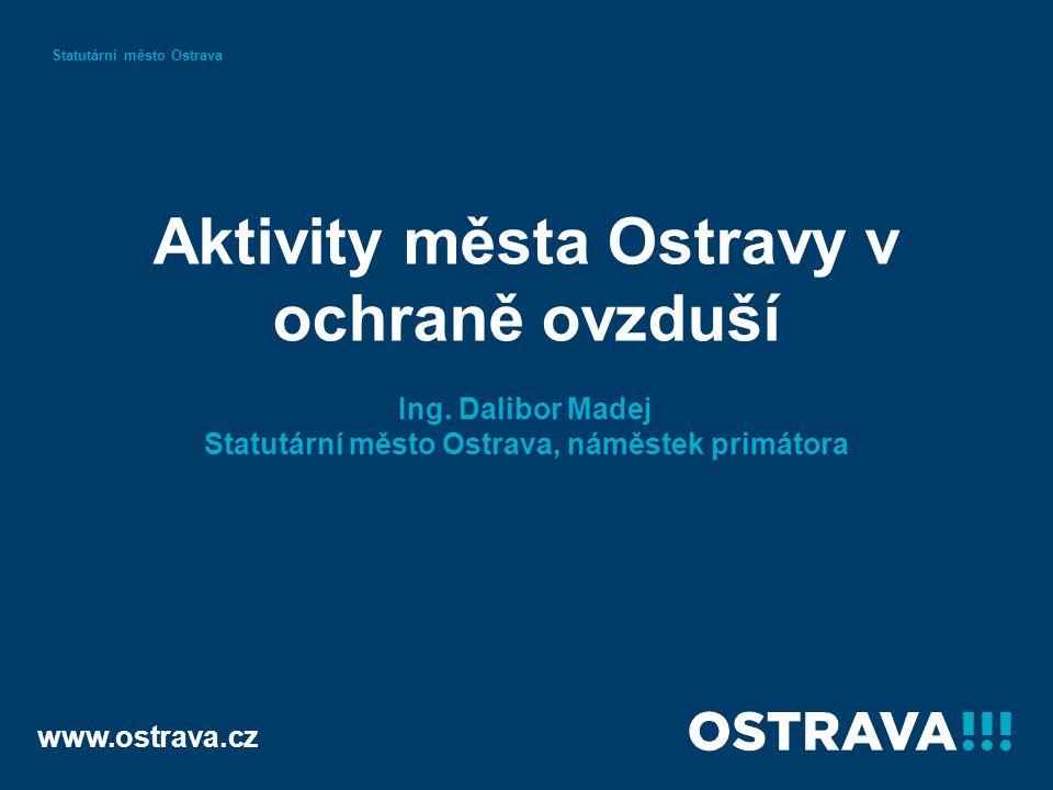 Aktivity města Ostravy v ochraně ovzduší Ing.