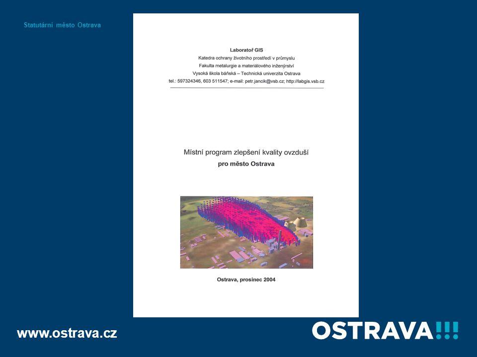 www.ostrava.cz Statutární město Ostrava