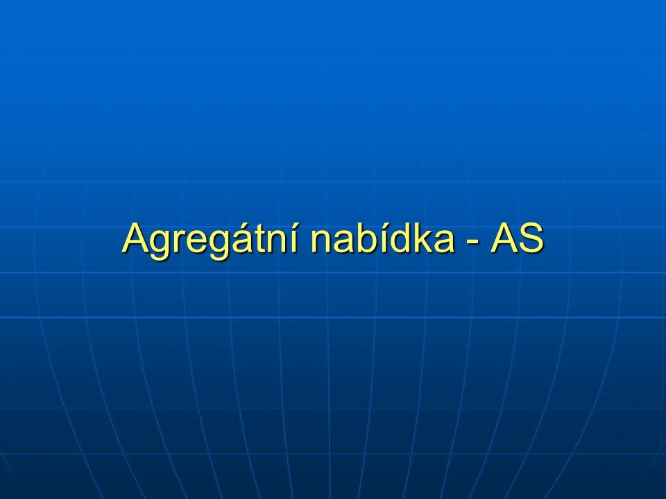 Agregátní nabídka - AS