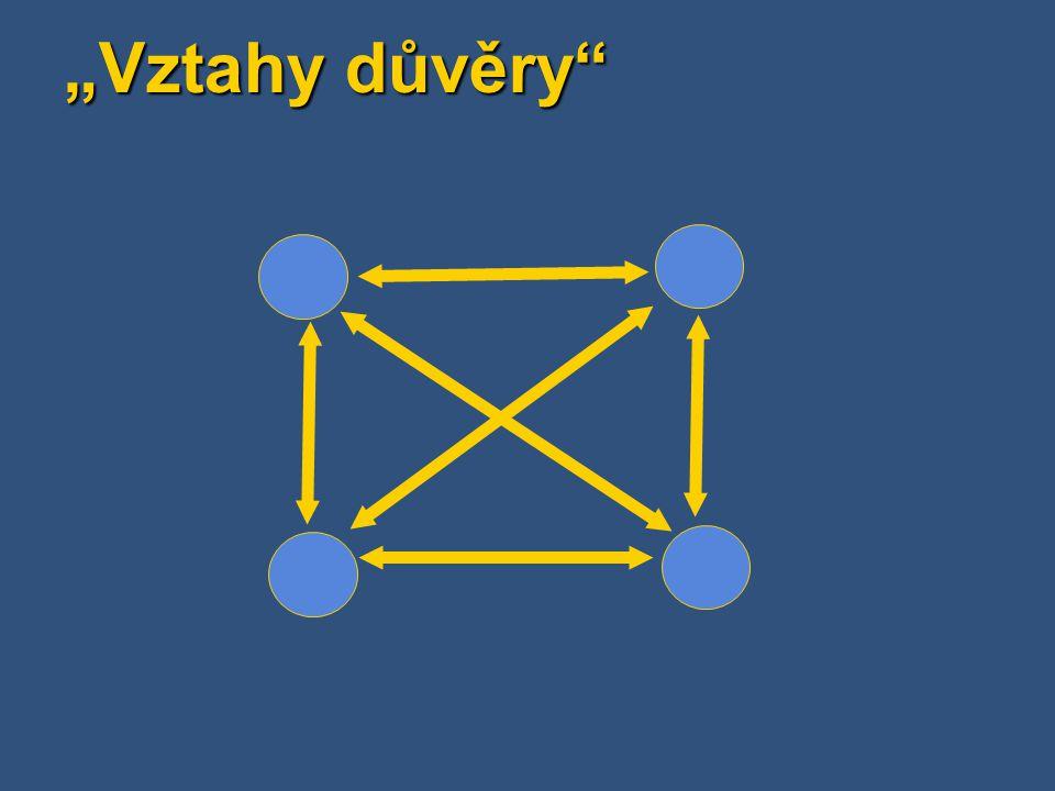 Active Directory - termíny Doménový strom (Domain Tree) Hierarchické spojení domén vytvořené vztahem rodič-potomek Hierarchické spojení domén vytvořené vztahem rodič-potomek Všechny domény v doménovém stromu sdílejí stejný jmenný prostor (root namespace) Všechny domény v doménovém stromu sdílejí stejný jmenný prostor (root namespace) Uživatelé mohou prohledávat informace v rámci doménového stromu Uživatelé mohou prohledávat informace v rámci doménového stromu Schéma je stejné v rámci doménového stromu Schéma je stejné v rámci doménového stromu