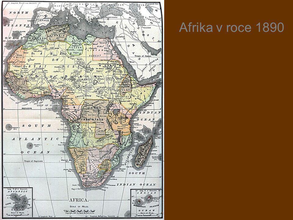 Afrika v roce 1890