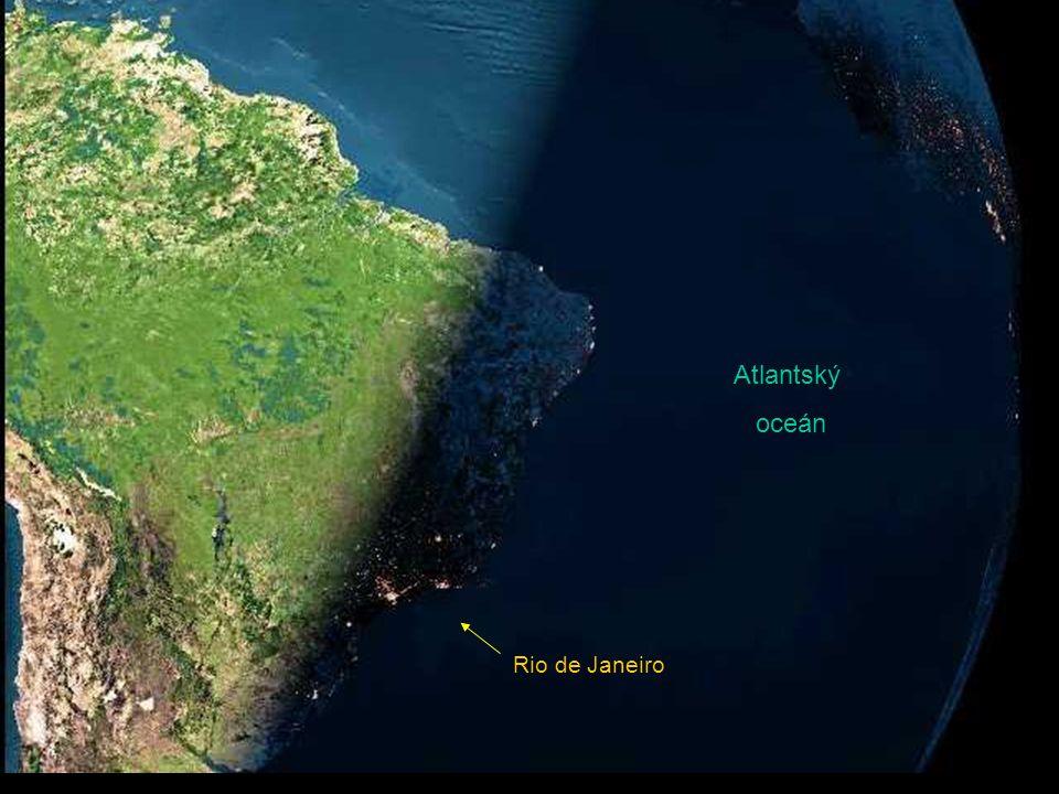 Rio de Janeiro Atlantský oceán
