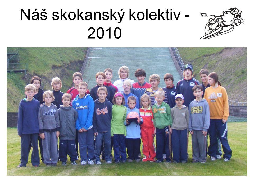 Náš skokanský kolektiv - 2010