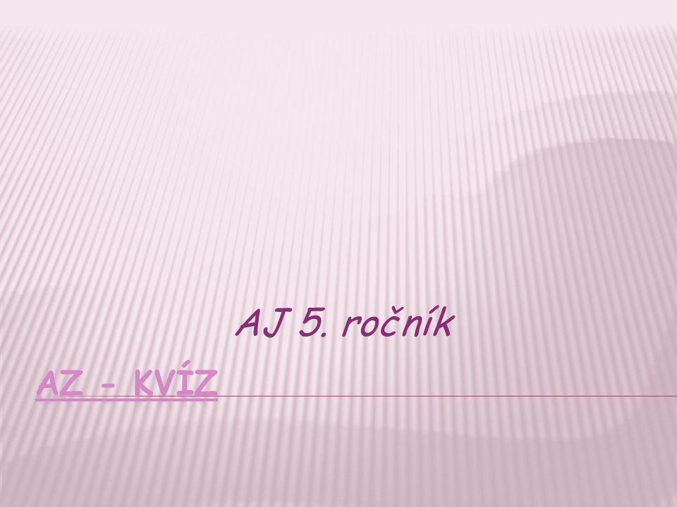 AJ 5. ročník