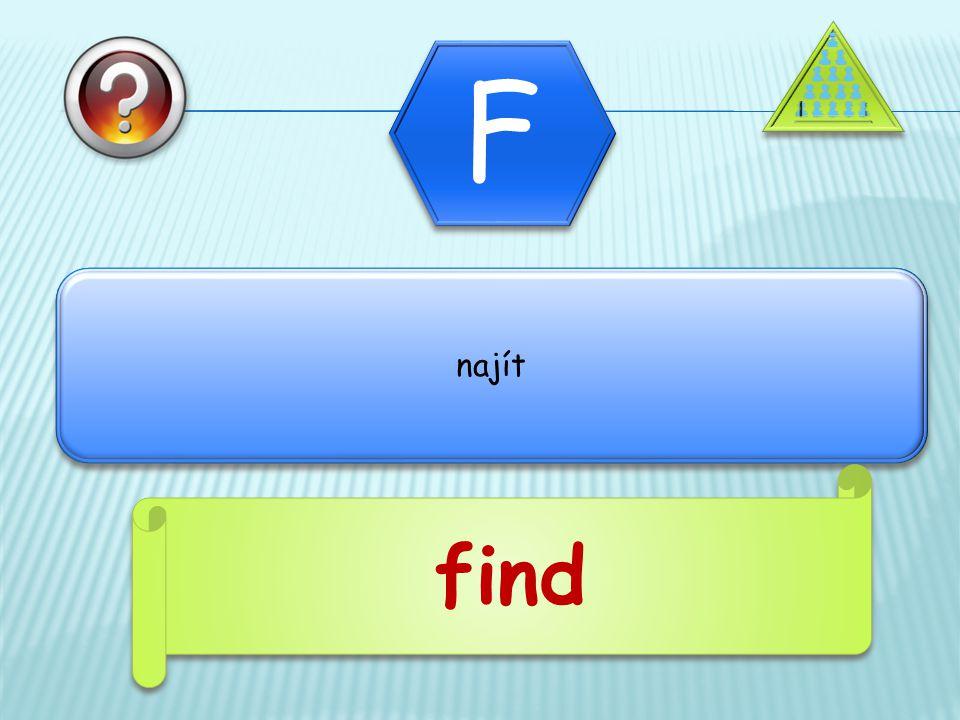 najít find