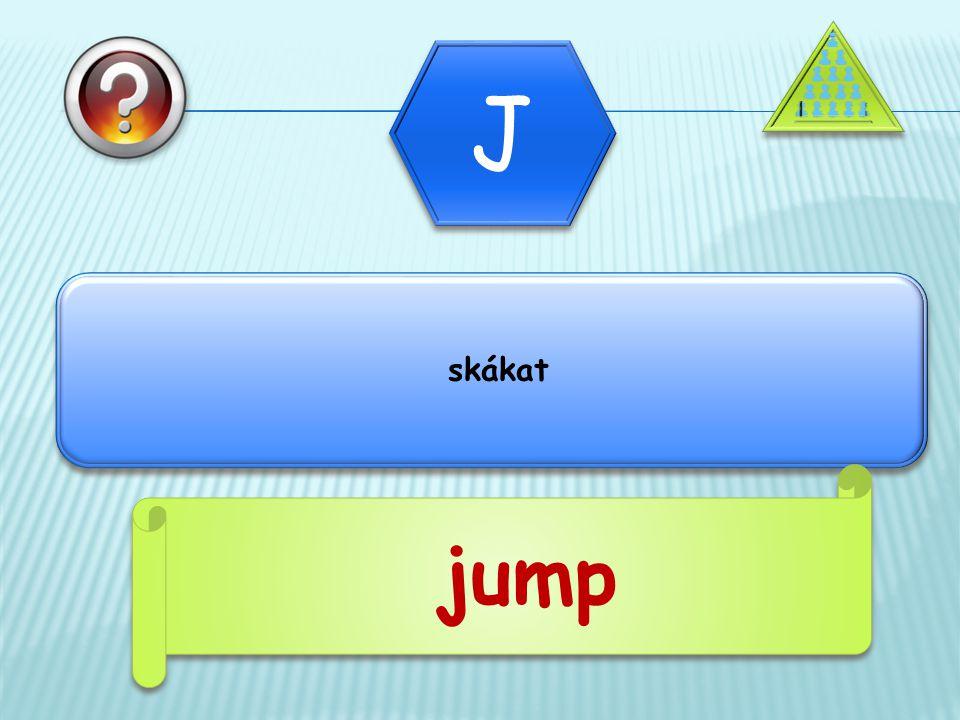 skákat jump