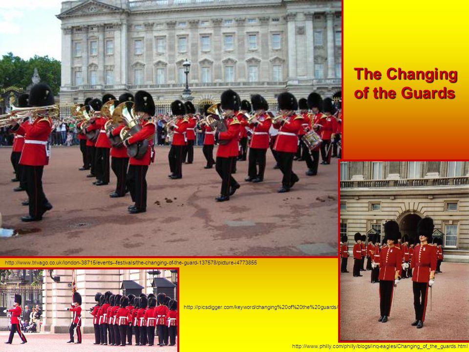 Buckinghamský palác http://www.visitingdc.com/london/buckingham-palace-picture.asp Buckinghamský palác je od dob královny Viktorie sídlem anglických k