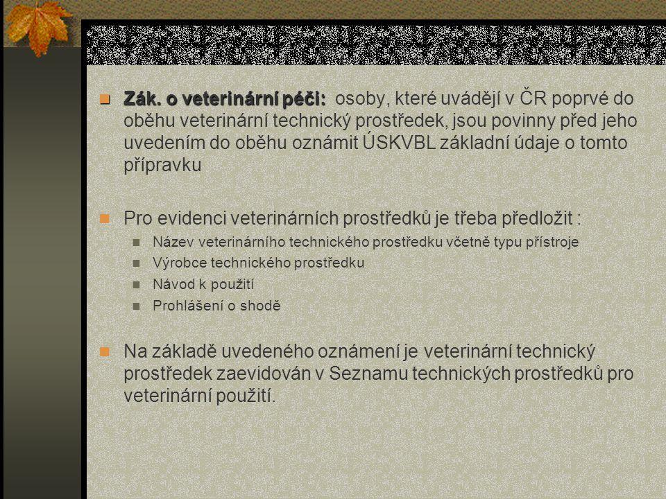 Zák.o veterinární péči: Zák.