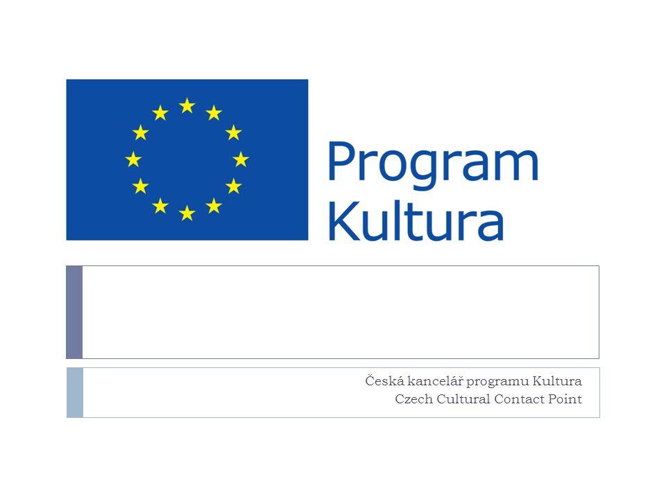 Česká kancelář programu Kultura Czech Cultural Contact Point