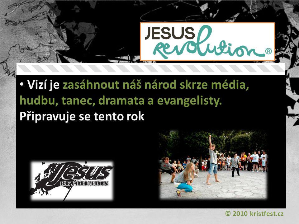 Vizí je zasáhnout náš národ skrze média, hudbu, tanec, dramata a evangelisty.