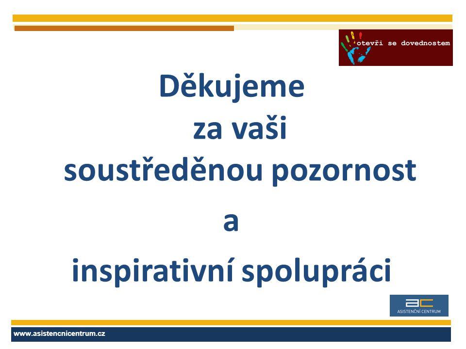 Asistenční centrum, a.s.12 www.asistencnicentrum.cz Děkujeme za vaši soustředěnou pozornost a inspirativní spolupráci