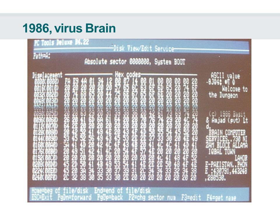 1986, virus Brain
