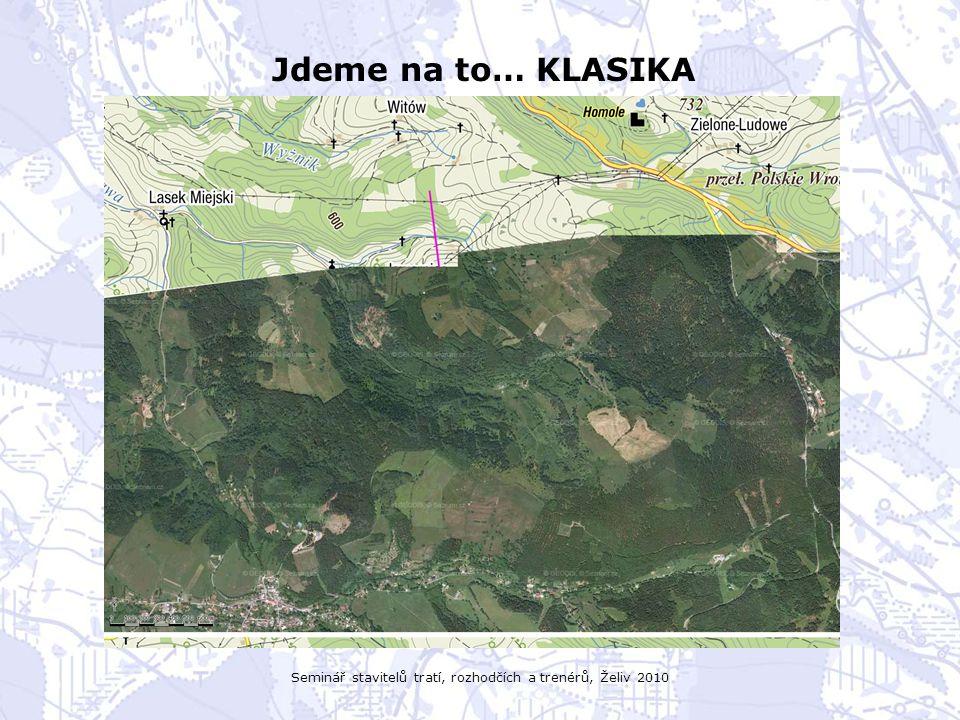 Seminář stavitelů tratí, rozhodčích a trenérů, Želiv 2010 Jdeme na to… KLASIKA