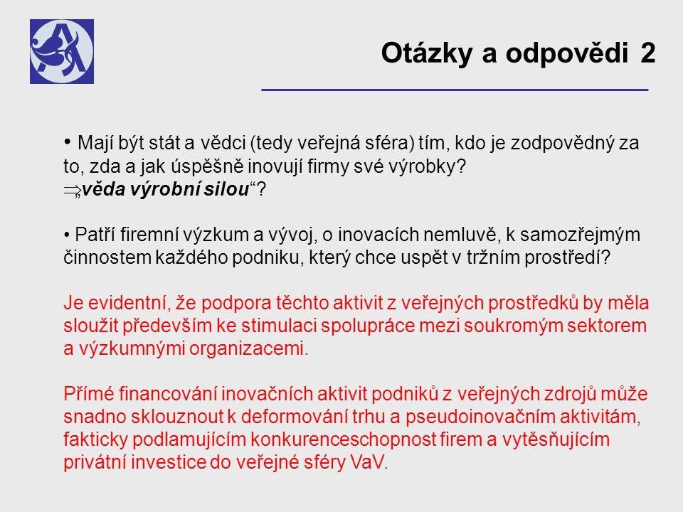 Financování vědy a výzkumu v ČR (v mld.